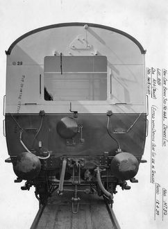 Auto Trailer, Brake Third, carriage No. 1668 - Drivers End