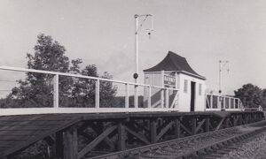 Backney Halt, c.1950s