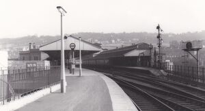Bath Spa Station, c.1960