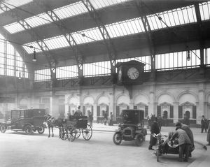 Birmingham Snow Hill booking hall concourse, 1912