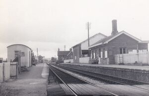Bishops Lydeard Station, c.1960s
