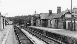 Bishops Nympton and Molland Station, c.1960