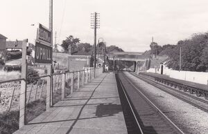 Bleadon and Uphill Station, c.1950s