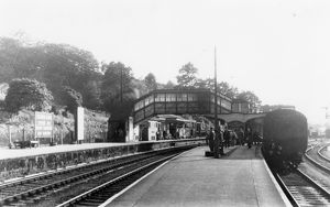 Bodmin Road Station, 1954