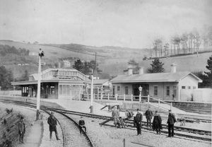 Bodmin Road Station, c.1895