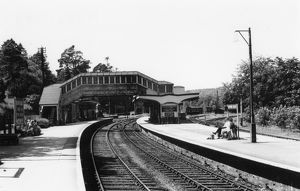 Bodmin Road Station, c1960