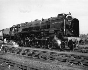 BR 8P Class Locomotive No 71000, Duke of Gloucester