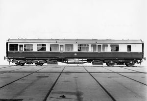 Brake Composite Carriage, No. 7061