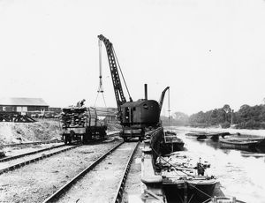 Brentford Docks, c1920