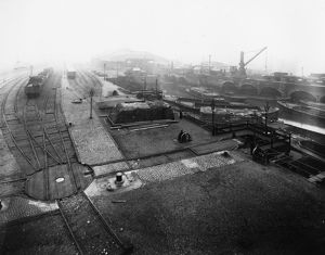 Brentford Docks, early 1900s