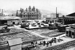 Bristol and Exeter Railway Station, Bristol, 1870