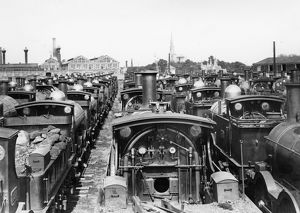 Broad Gauge Dump, Swindon, 1892