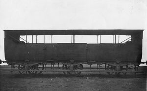 Broad Gauge Iron Bodied 3rd Class Coach, built c1844