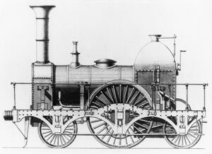 planes trains automobiles/locomotives steam broad gauge firefly/broad gauge locomotive fire fly