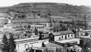Bromyard Station and Downs, c1890s