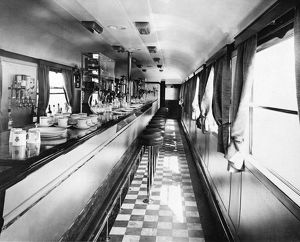 Buffet Car No 9631, c1934