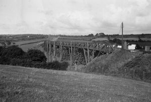 Carnon Viaduct nr Perranwell, c1933