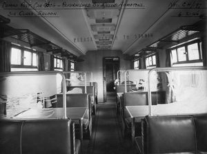 Carriage No. 9606, Composite Restaurant Car, 3rd Class Saloon, 1946