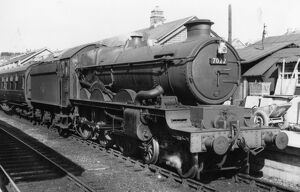 Castle Class locomotive no. 7022, Hereford Castle, c.1950s