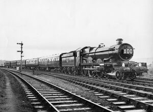Castle Class locomotive, No. 7037, Swindon