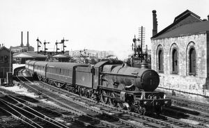 Castle Class, No. 7029, Clun Castle at Newton Abbot Station, c.1950s