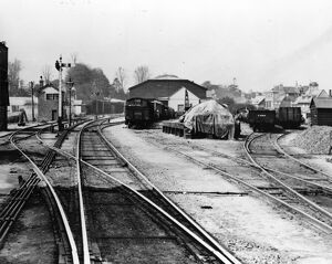 Cirencester Town Goods Shed and Signal Box, c1930s