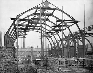 Construction of Medical Fund Society, Milton Road, c1891
