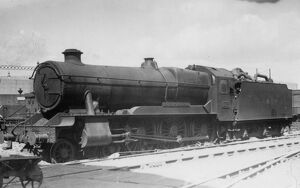 County Class locomotive, no. 1017, County of Hereford