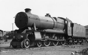 County Class locomotive, no. 1017, County of Hereford, 1948