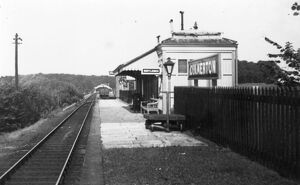 stations halts/gloucestershire stations culkerton station/culkerton station c1960