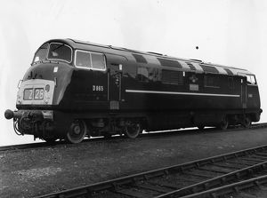D865 Diesel Warship Class Locomotive, Zealous