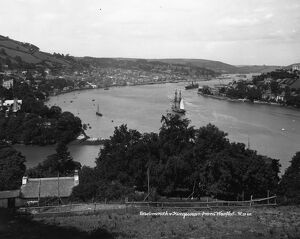 Dartmouth and Kingswear from Warfleet, c1900