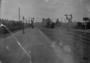 stations halts/oxfordshire stations didcot station surrounds/didcot station 11th may 1896