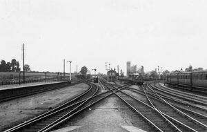 Didcot Station and signal box, c.1910