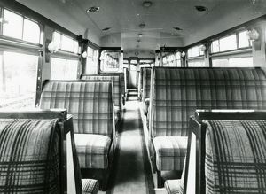 Diesel Railcar No. 5 - interior view