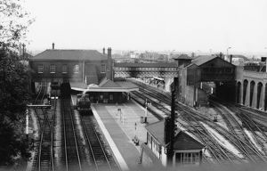 Dudley Station, c.1955