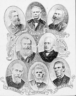 Early Medical Fund Society Committee Members, c1860