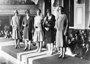 Fashion Show in the Mechanics' Institute c.1920s