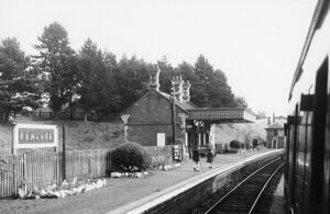 Fencote Station, September 1952