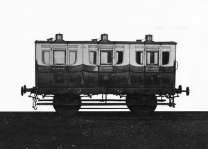 First Class broad gauge carriage