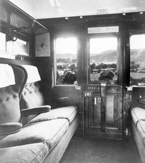 First Class Compartment of Composite Carriage