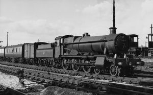 Grange Class, no. 6864, Dymock Grange at Banbury, 1958