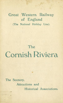 Guide book for The Cornish Riviera, 1914