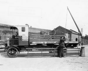 GWR 4 Ton Thornycroft Lorry, 1929
