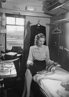Sleeper compartment, c1940s