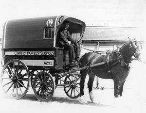 GWR Horse Drawn Express Parcels Cart