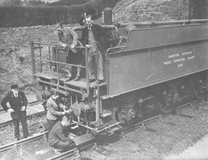 Weedkilling Train, 1938