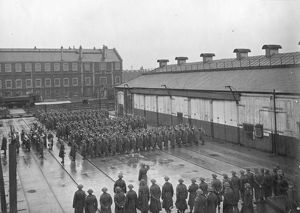 GWR Works Home Guard passing out parade, December 1944