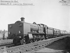 Hall Class locomotive No. 4905, Barton Hall. August 1947