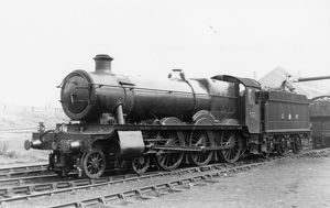 Hall Class Locomotive No. 4967, Shirenewton Hall
